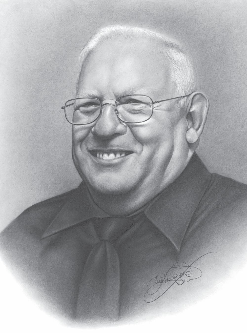 Ли хэммонд портрет с фотографии