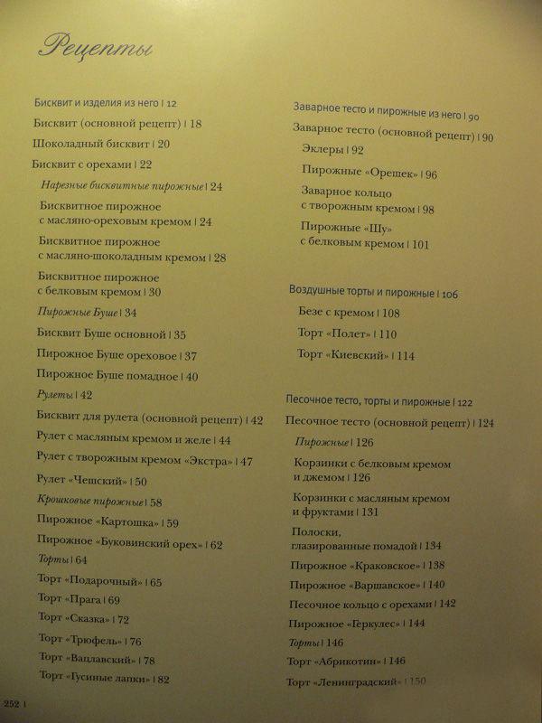 Библиотечка кондитера