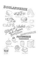 Прогулка по Парижу. Мини-раскраска-антистресс для творчества и вдохновения — фото, картинка — 12