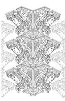 Прогулка по Парижу. Мини-раскраска-антистресс для творчества и вдохновения — фото, картинка — 9