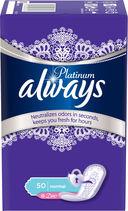 Ежедневные прокладки ALWAYS Platinum Collection Deo Normal (50 шт.) — фото, картинка — 1