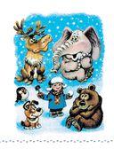 Большая книга Деда Мороза. Сказки, стихи, песенки — фото, картинка — 8