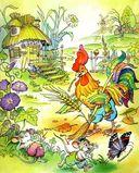 Колобок. Колосок. Лиса и журавль. Ёж и заяц. Козёл и баран. Соломенный бычок. Ивасик-Телесик — фото, картинка — 2