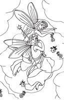 Лесные феи. Мини-раскраска-антистресс для творчества и вдохновения — фото, картинка — 10