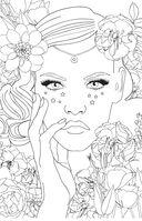 Лесные феи. Мини-раскраска-антистресс для творчества и вдохновения — фото, картинка — 11