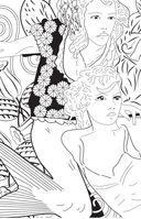 Лесные феи. Мини-раскраска-антистресс для творчества и вдохновения — фото, картинка — 12