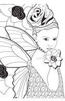 Лесные феи. Мини-раскраска-антистресс для творчества и вдохновения — фото, картинка — 3
