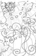 Лесные феи. Мини-раскраска-антистресс для творчества и вдохновения — фото, картинка — 4