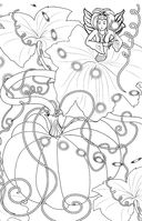 Лесные феи. Мини-раскраска-антистресс для творчества и вдохновения — фото, картинка — 5