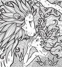 Раскраска-антистресс. Волшебные существа — фото, картинка — 3