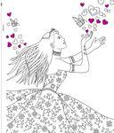Моя любимая раскраска. Принцессы — фото, картинка — 1