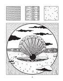 Загадочный океан. Один день - один зендудл — фото, картинка — 3