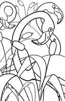 Удивительные животные. Мини-раскраска-антистресс для творчества и вдохновения — фото, картинка — 10