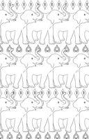 Удивительные животные. Мини-раскраска-антистресс для творчества и вдохновения — фото, картинка — 12