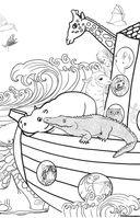 Удивительные животные. Мини-раскраска-антистресс для творчества и вдохновения — фото, картинка — 3