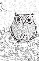 Удивительные животные. Мини-раскраска-антистресс для творчества и вдохновения — фото, картинка — 7