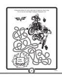 Большая книга игр и раскрасок для супергонщиков — фото, картинка — 2