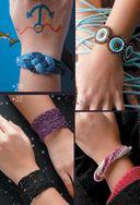 Модные браслеты. Вяжем крючком — фото, картинка — 4