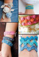 Модные браслеты. Вяжем крючком — фото, картинка — 5