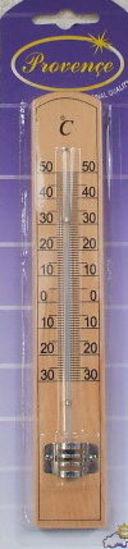 Термометр комнатный в деревянном корпусе (арт. 410011) — фото, картинка — 1