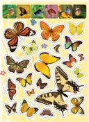 100 наклеек. Бабочки — фото, картинка — 1