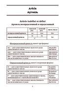 Французская грамматика в таблицах и схемах — фото, картинка — 3