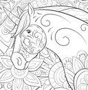 Единороги. Раскраска-антистресс для творчества и вдохновения — фото, картинка — 4
