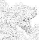Единороги. Раскраска-антистресс для творчества и вдохновения — фото, картинка — 9