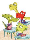 Школа динозавров. Бронтозавр - новенький в классе — фото, картинка — 5