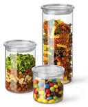 Набор банок для сыпучих продуктов (3 шт.) — фото, картинка — 2
